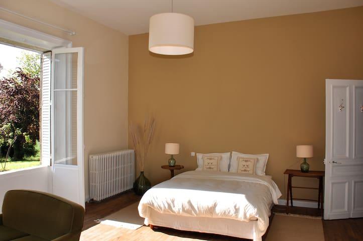 Votre chambre avec vue sur la campagne
