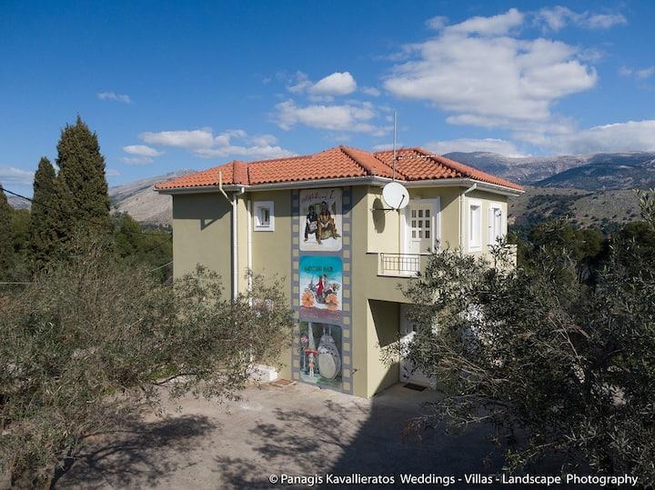 Cinema Themed House in Argostoli
