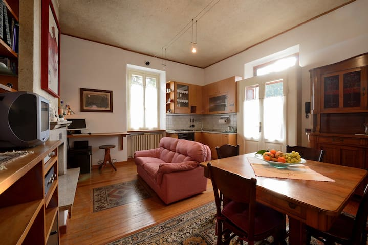 Casa d'epoca con giardino sul lago - Sesto Calende - Apartamento