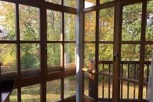 Gemütliche Wohnung mit Balkon am See