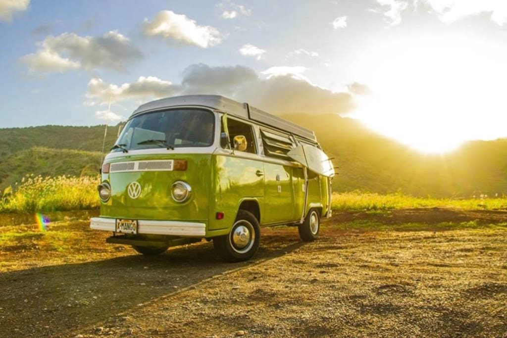 explore hawaii in an old vw bus houses for rent in honolulu hawaii united states. Black Bedroom Furniture Sets. Home Design Ideas