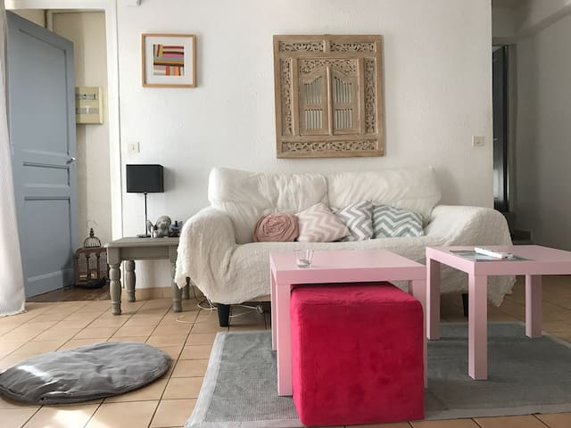 Appartement t3 en duplex, terrasse - Toulouges - Apartment