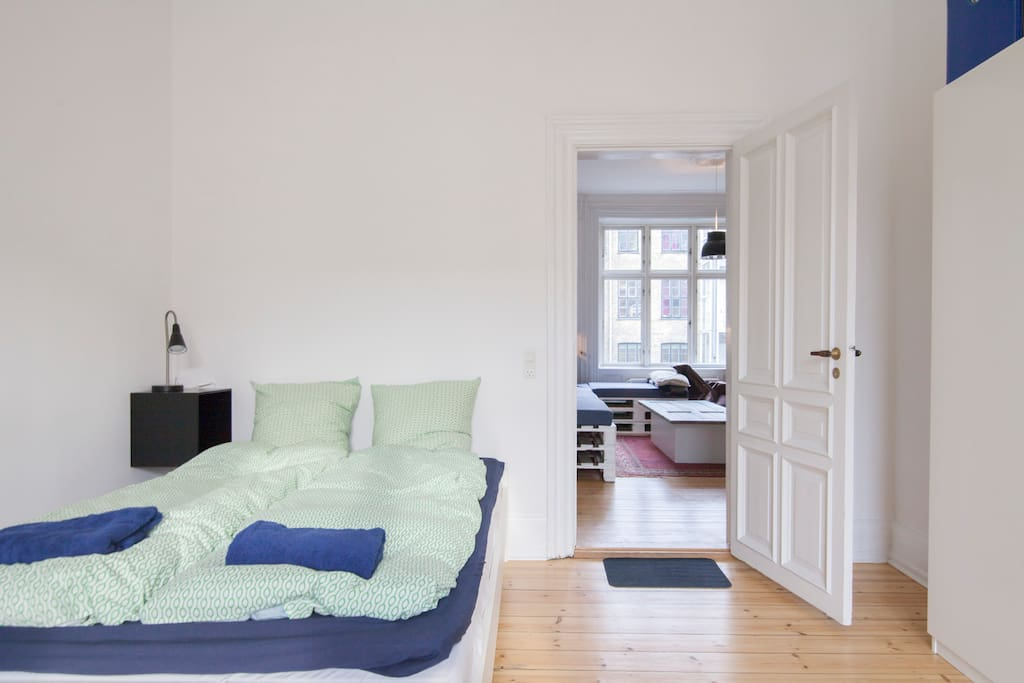 Your cosy room located just next to the front door and our cosy living room