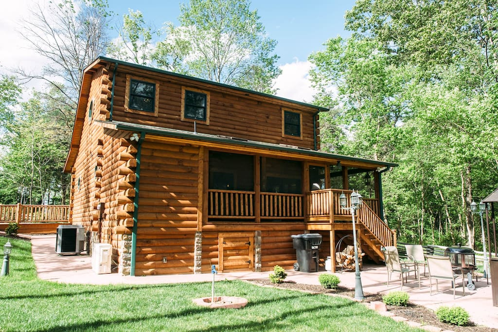HD wallpapers log cabins for rent in shenandoah va