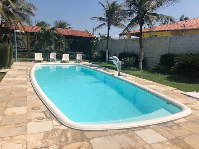 Casa completa no IGUAPE-CE 100m da praia