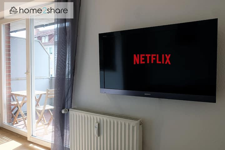 Modern apartment in Osnabrück with Netflix