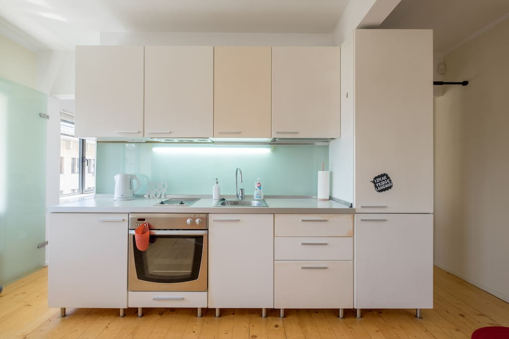A fully equipped kitchen. Bring your cooking skills, you're gonna need them!
