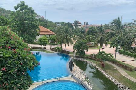 Lovely Private Pool Villa with Garden near center
