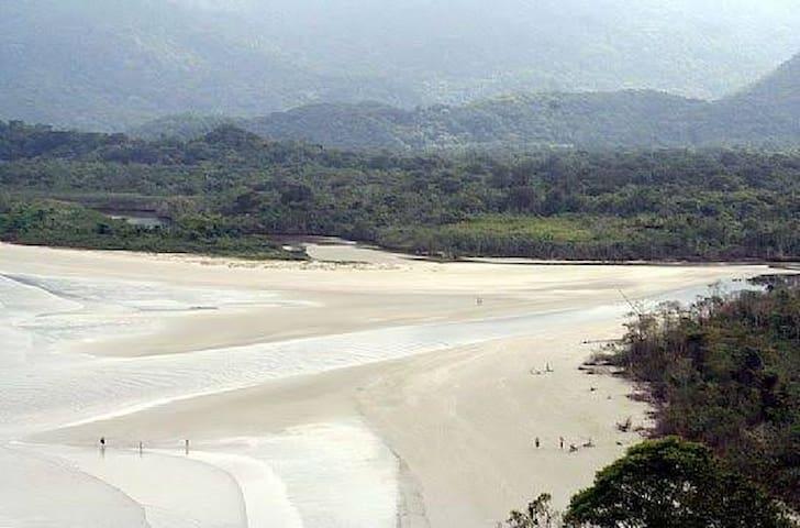 Casa na Praia Da Fazenda, UBATUBA/ SP