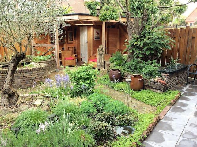 Charming home w/ garden @ hip & creative North!