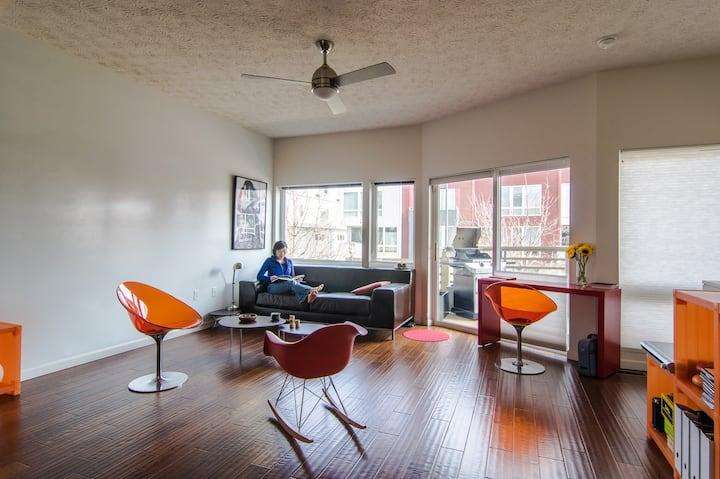 Designer's home in Gordon Square