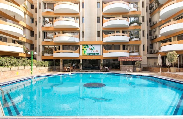 Serviced Studio in Monte Cairo(4Px) C501 المقطم - Cairo - Appartement