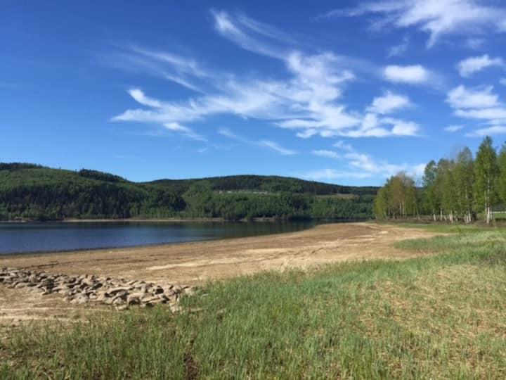 Private beach & fishing - big country house