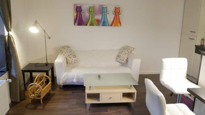 Wohnen bei Anke - modern, zentral, ruhig auf 40qm