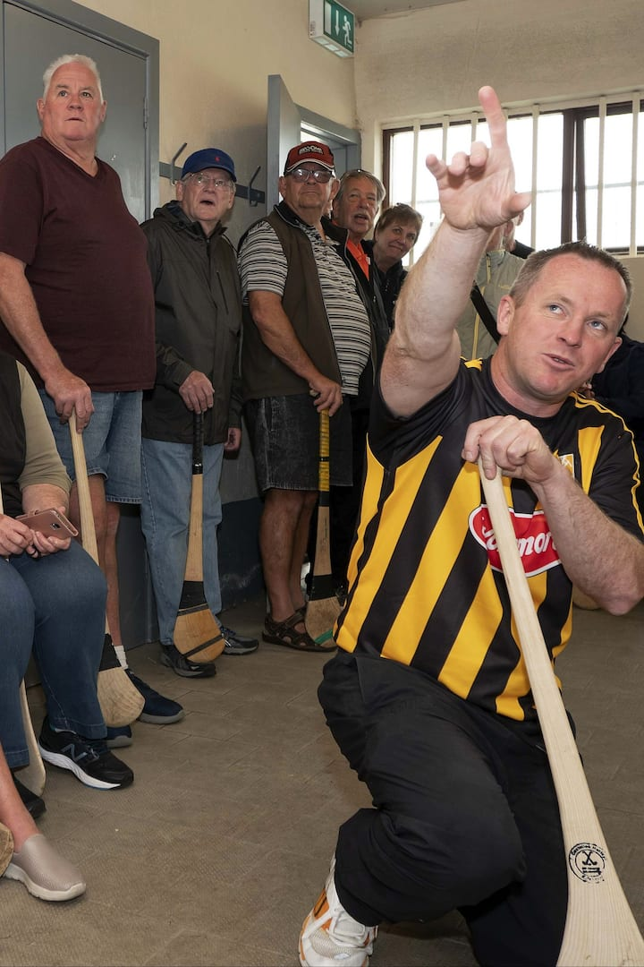Learning about hurling
