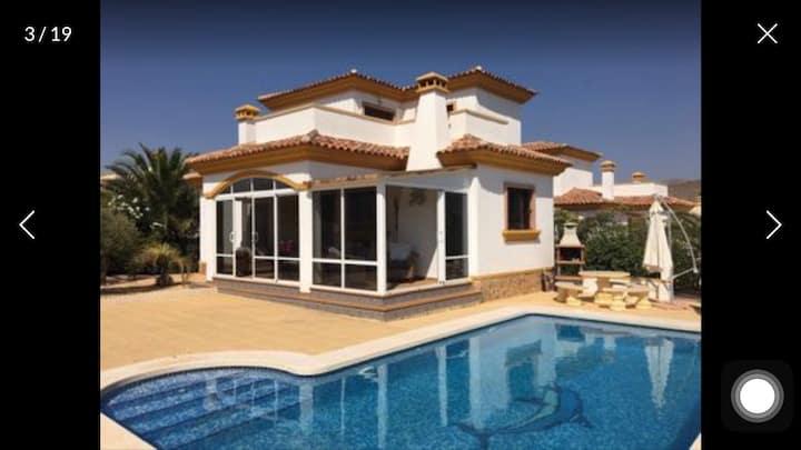 Stunning villa in hondon Spain sleeps 6.