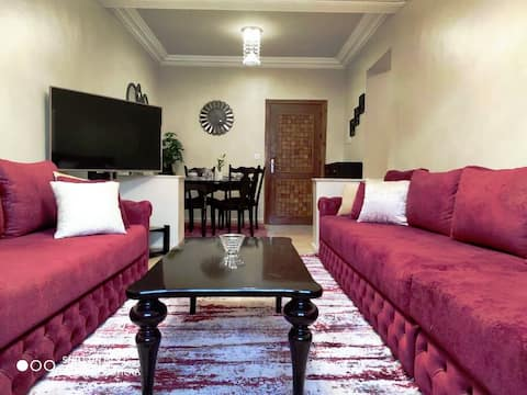 Luxury Apartment,3 Bed,Newly Renovated,Hay Laouina