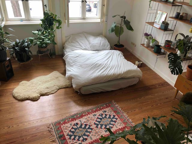 Cozy room with own bathroom in Frankfurt/Offenbach