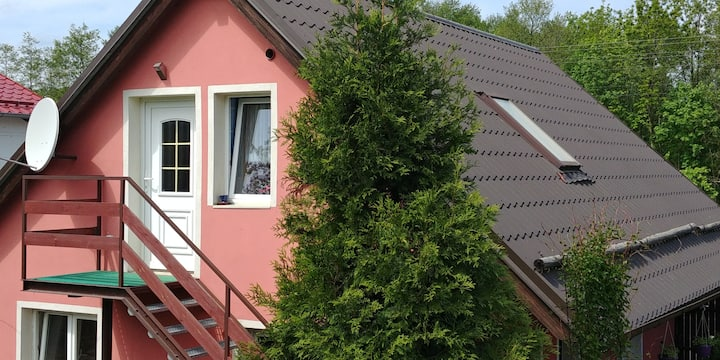 Attic apartment at the foot of the Brdy forests