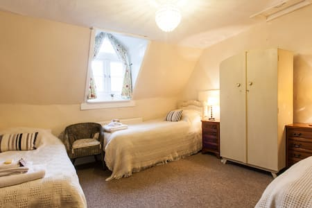 Bright and Spacious triple room. - Monmouthshire - Bed & Breakfast