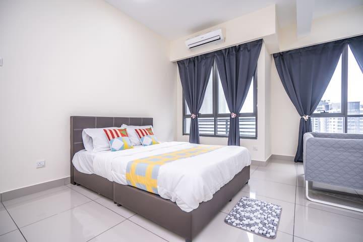 City-View Studio Home in Selangor, Malaysia