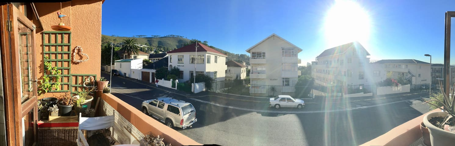 front view from Balcony looking at Signal Hill
