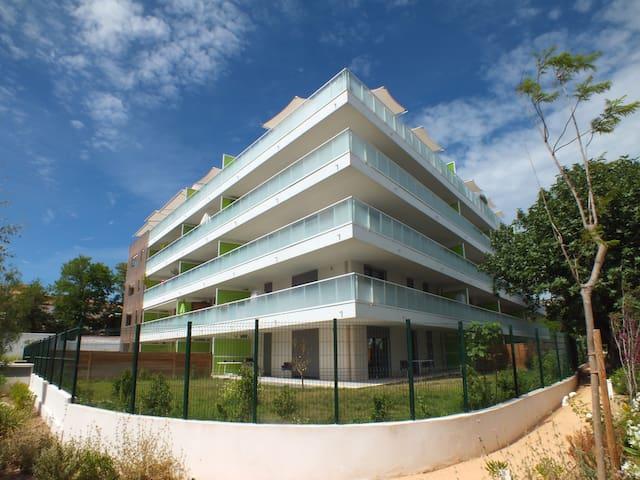 Studio neuf ds immeuble standing près des plages - Marseille - Apartemen