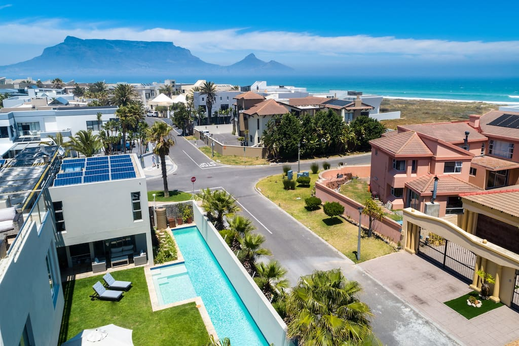 View of ocean & table mountain