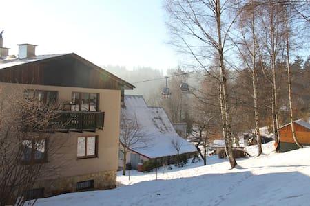 levné ubytování pod Černou horou v Krkonoších - Janské Lázně