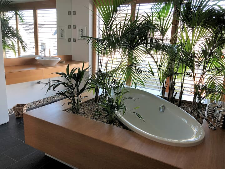 Large design & ZEN apartm. with steam shower