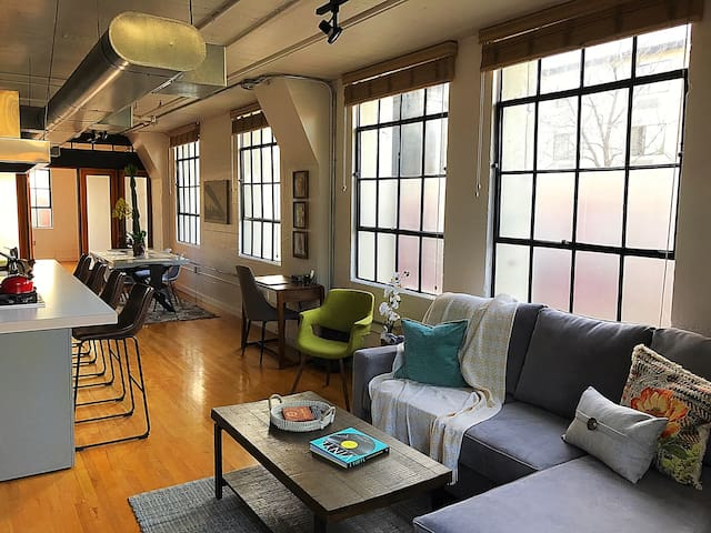 Chocolate Factory Industrial Loft - Salt Lake City