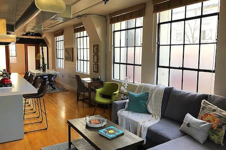 Chocolate Factory Industrial Loft - Salt Lake City  - Loteng