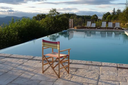 Beautiful mountain villa near Ceret - Céret