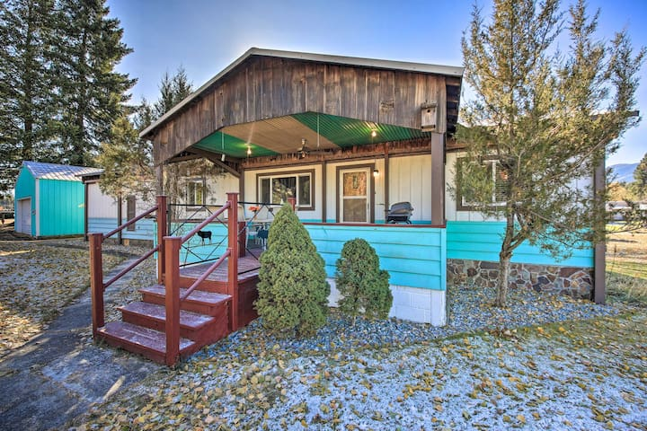 NEW! Riverfront Retreat in Trout Creek Montana!