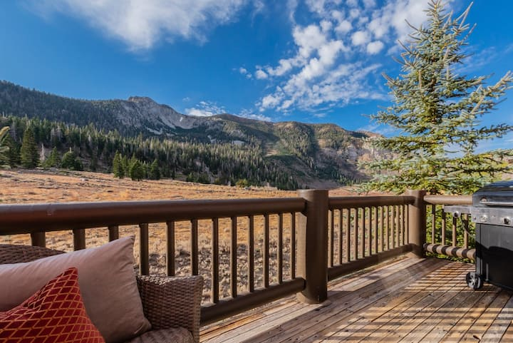Sprawling Townhome with pool table, foosball and stunning mountain views