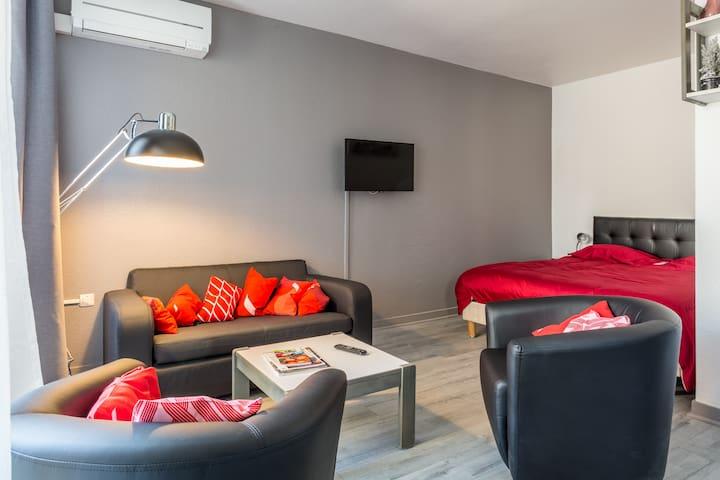 STUDIO aux portes de GRENOBLE  - Meylan - Apartamento