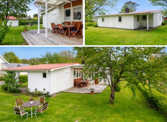 Summer place for family in Haverdal (Halmstad) - Haverdal - Cabin