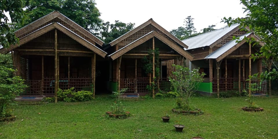 Cozy Cottage stay @ Asia's biggest island Majuli.
