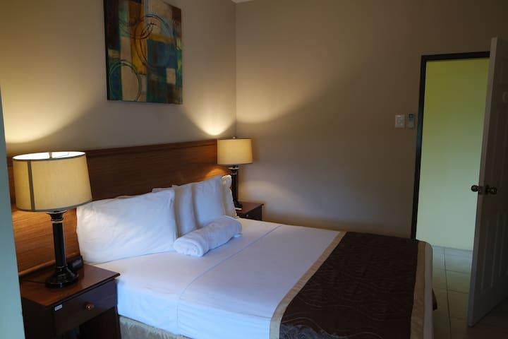 Flamingo; One Bedroom Apartment, St. Clair, POS