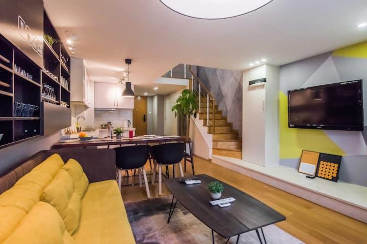 舒适loft公寓房苏州火车站附近陆慕地铁口近平江路观前街山塘街拙政园