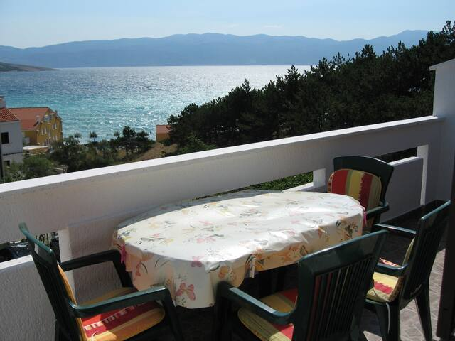 Apartments Lisac - Apartment II - Baška - Appartement