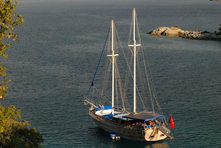 Gulet Blue Cruise Fethiye Turkey