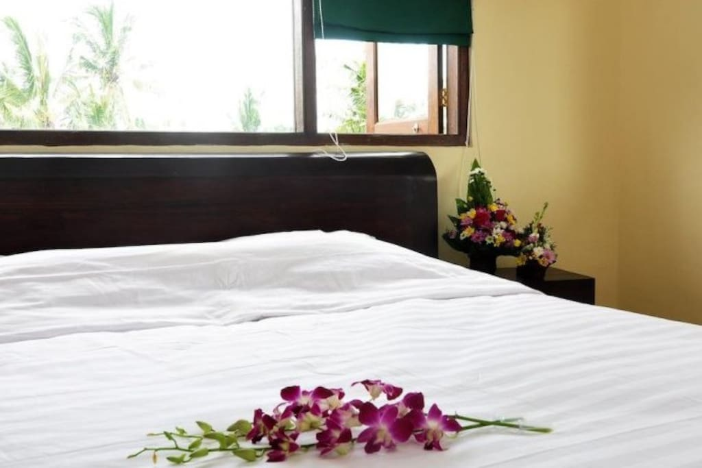 Double Bed Room with Air Conditioner