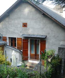 Appartement de montagne avec jardin - Ayzac-Ost - Byt