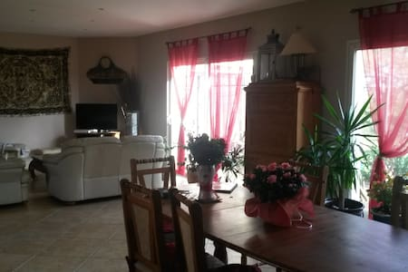 Very comfortable house with large garden and views - Baleyssagues