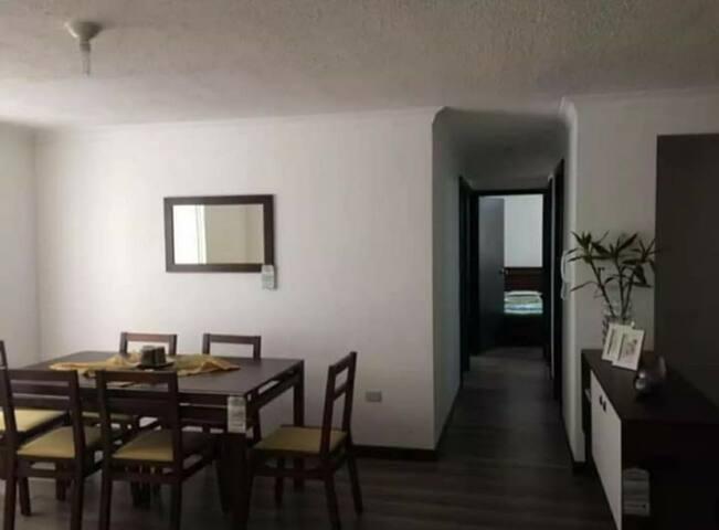 Bonito departamento en Cuenca. Con o sin amoblar.