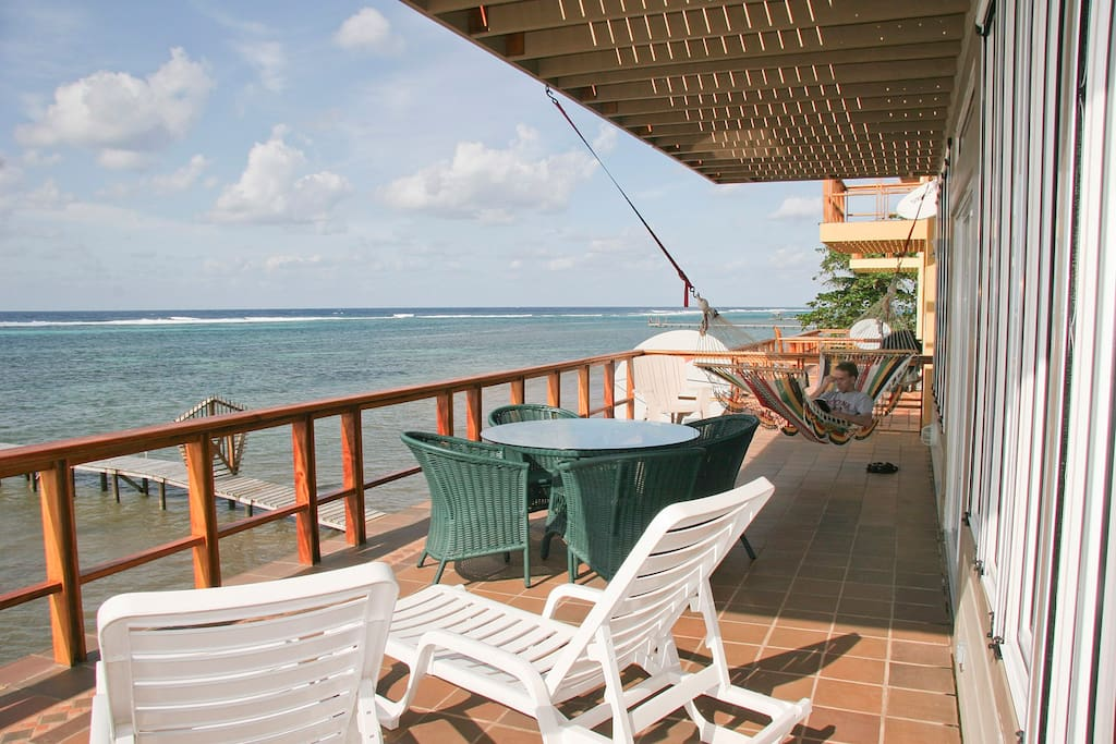 Gaming Suite Balcony - So Close to the Ocean it feels like you could be on a cruise ship!