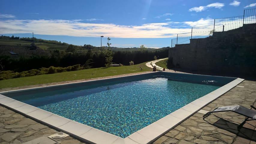 Villa Sofia casa con piscina -Langhe e Monferrato