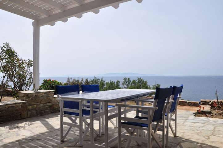 Villa by the sea in Tinos - D // Stavros Bay - Tinos - Villa