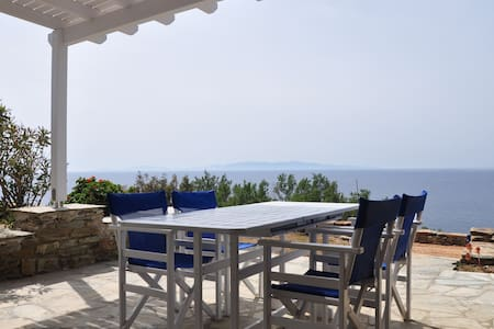 Villa by the sea in Tinos - D // Stavros Bay - Tinos